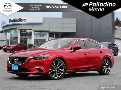 Pre-Owned 2016 Mazda6 GT - 4 NEW TIRES - WINTER RUBBER - $134 BI WEEKLY