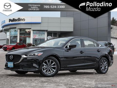 Pre-Owned 2018 Mazda6 GS-L - TURBO 4 CYLINDER - UP TO 250 HP AND 310 FT LB TORQUE