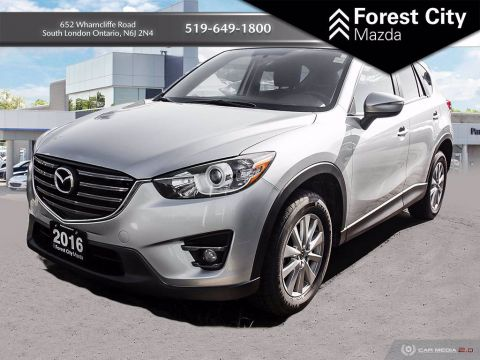 Pre-Owned 2016 Mazda CX-5 GS-Luxury | LEATHER | MOONROOF