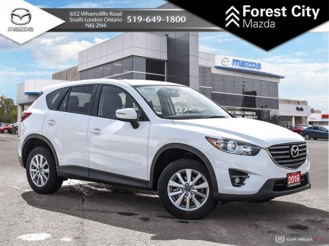 Pre-Owned 2016 Mazda CX-5 | GS | Cross-Traffic Alert | Navigation System | Cruise Control | Back-Up Camera