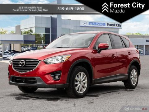 Pre-Owned 2016 Mazda CX-5 GS | Leather Interior | Sunroof | Back-up Cam