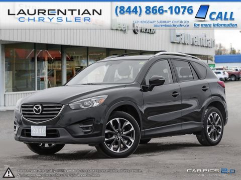 Pre-Owned 2016 Mazda CX-5 GT - BOSE SOUND - SUNROOF - NAVIGATION
