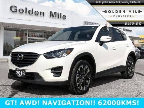 Pre-Owned 2016 Mazda CX-5 GT AWD NAVIGATION