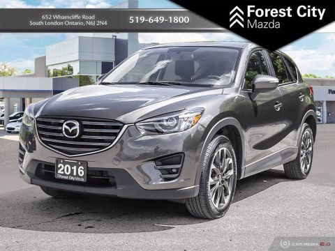 Pre-Owned 2016 Mazda CX-5 GT With Navigation & AWD