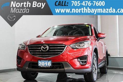 Pre Owned 2016 Mazda Cx 5 Gt With Awd Navigation System