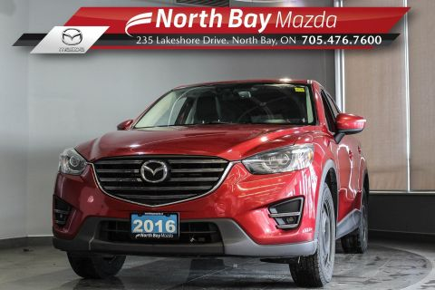 Pre-Owned 2016 Mazda CX-5 GT AWD with Leather, Nav, Sunroof, Power Driver Seat