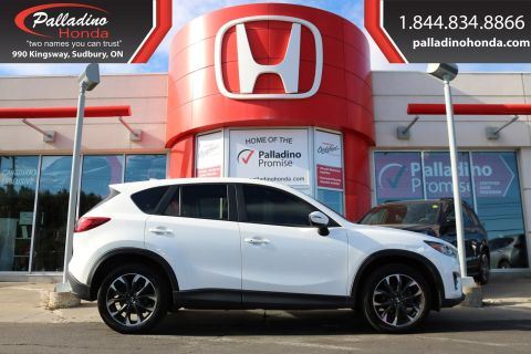 Pre-Owned 2016 Mazda CX-5 GT-ALL WHEEL DRIVE, NAVIGATION, BACKUP CAMERA