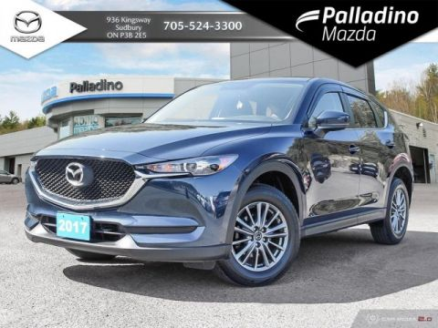 Pre-Owned 2017 Mazda CX-5 GX - LOW MILEAGE!!! - FUEL EFFICIENT FRONT WHEEL DRIVE