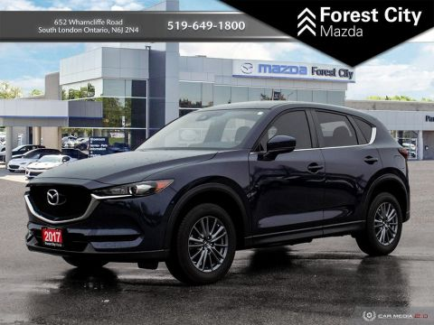 Pre-Owned 2017 Mazda CX-5 GS, ALLOYS, 5 PASSENGER,