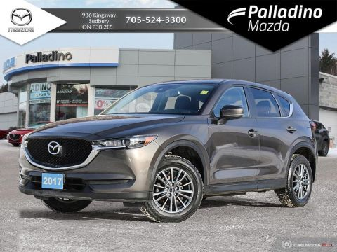 Pre-Owned 2017 Mazda CX-5 GS AWD