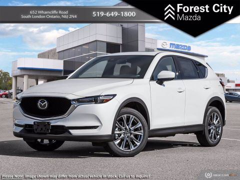 Pre-Owned 2019 Mazda CX-5 Signature | DEMO With Navigation & AWD