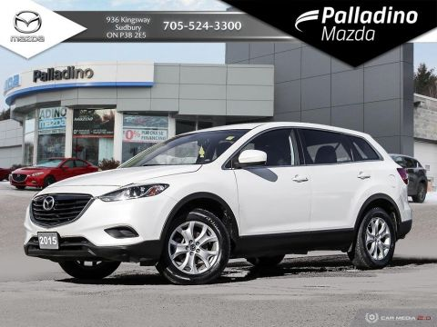 Pre-Owned 2015 Mazda CX-9 GS - NEW BRAKES ALL AROUND - 7 SEATER FWD Sport Utility