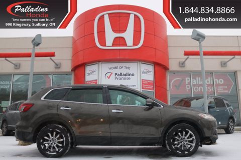 Pre-Owned 2015 Mazda CX-9 GT-CERTIFIED