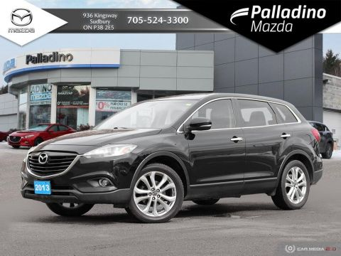 Pre-Owned 2013 Mazda CX-9 GT - NAVIGATION - 7 SEATER UNDER $16K - CERTIFIED