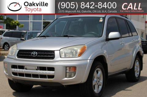 Pre-Owned 2001 Toyota RAV4 4WD Manual with Clean Carfax | SELF CERTIFY