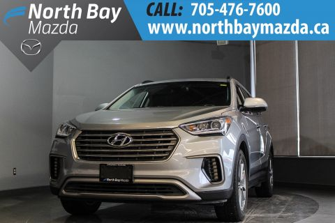 Pre-Owned 2017 Hyundai Santa Fe Limited 7 Pass with Heated Seats, Bluetooth