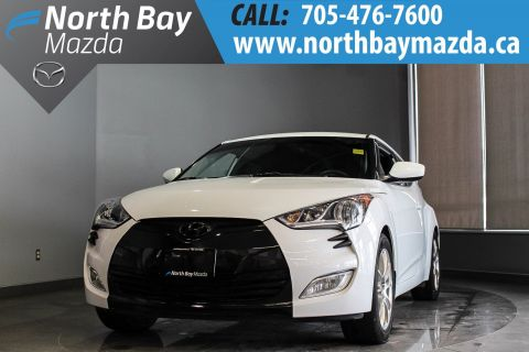 Pre-Owned 2016 Hyundai Veloster Tech Manual with One Owner, Brakes Done