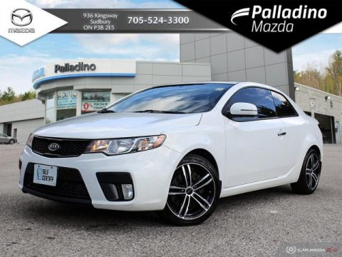 Pre-Owned 2012 Kia Forte Koup SX - SELF CERTIFY
