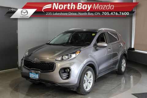 Pre-Owned 2018 Kia Sportage LX AWD with Bluetooth, Heated Seats, Cruise