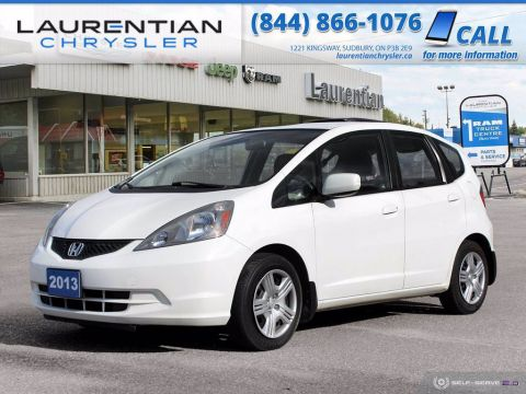 Pre-Owned 2013 Honda Fit LX!! COLD AIR CONDITIONING!!