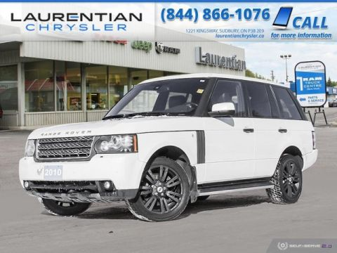 Pre-Owned 2010 Land Rover Range Rover HSE- DRIVE RANGE ROVER LUXURY AND CAPABILITY !