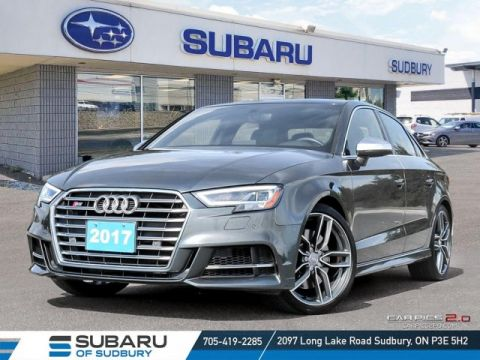 Pre-Owned 2017 Audi S3 Technik quattro - !**FREE WINTER TIRES**!