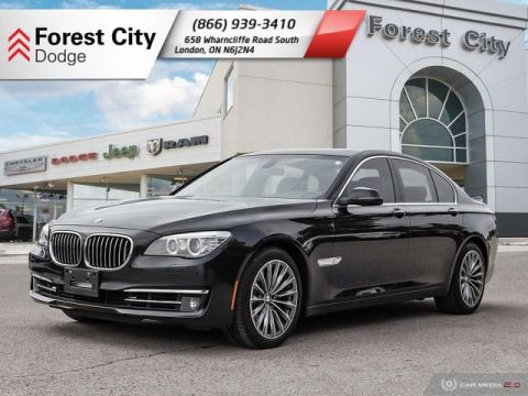 Pre-Owned 2014 BMW 7 Series leather, roof, nav heated/cooled seats, full load!!