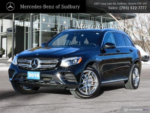 Certified Pre-Owned 2018 Mercedes-Benz GLC 300 4MATIC -