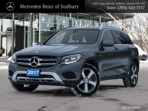 Certified Pre-Owned 2017 Mercedes-Benz GLC 300 4MATIC