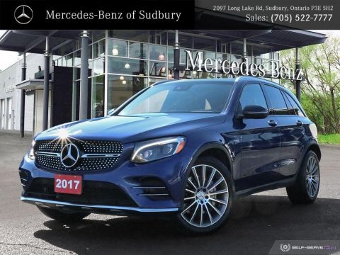 Certified Pre-Owned 2017 MERCEDES GLC 43 AMG - PREMIUM ONE PKG - PREMIUM TWO PKG - STAR CERTIFIED WARRANTY