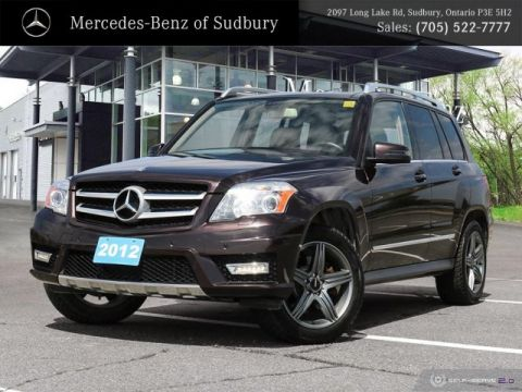 Pre-Owned 2012 MERCEDES GLK 350 - IIHS TOP SAFETY PICK WITH SPACIOUS CARGO AREA!
