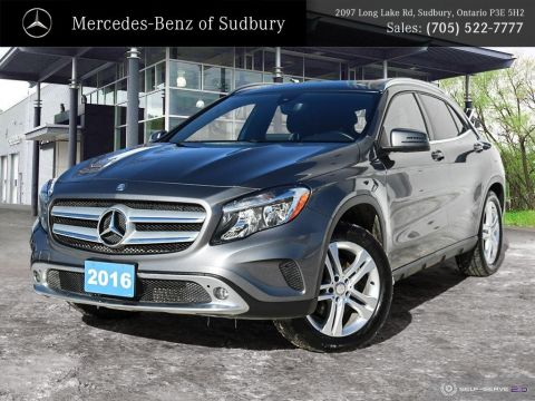 Certified Pre-Owned 2016 Mercedes-Benz GLA 250 4MATIC