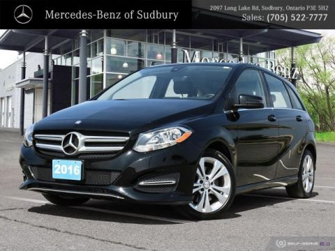 Certified Pre-Owned 2016 Mercedes-Benz B250 Sports Tourer 4MATIC®