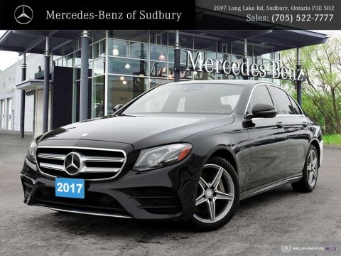 Certified Pre-Owned 2017 Mercedes-Benz E-Class E300 4MATIC Sedan