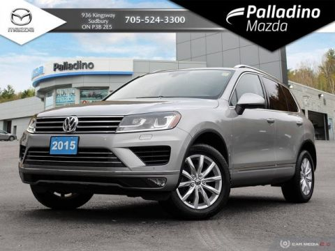 Pre-Owned 2015 Volkswagen Touareg V6 - GREAT DRIVE - TOP 5 VALUE IN CANADA