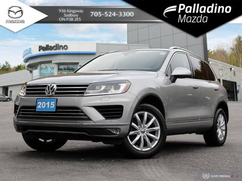 Pre-Owned 2015 Volkswagen Touareg V6 - NEW BRAKES ALL AROUND - PANO ROOF