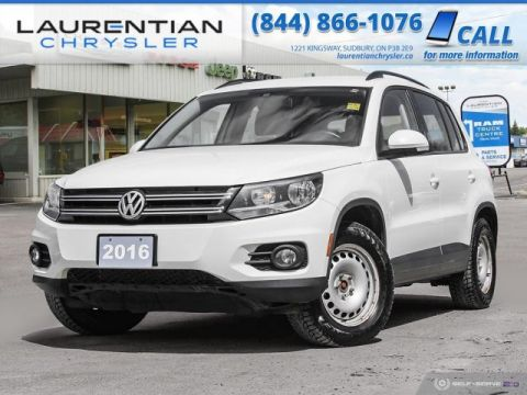 Pre-Owned 2016 Volkswagen Tiguan Comfortline - COMPACT SPORTY SUV WITH FUEL EFFICIENCY !!