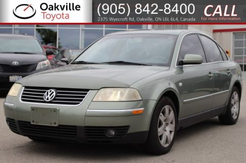 Pre-Owned 2002 Volkswagen Passat GLS with Clean Carfax and One Owner